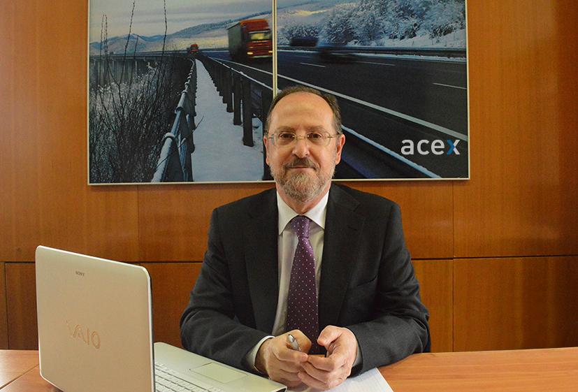 Pablo Sáez, director gerente de ACEX.