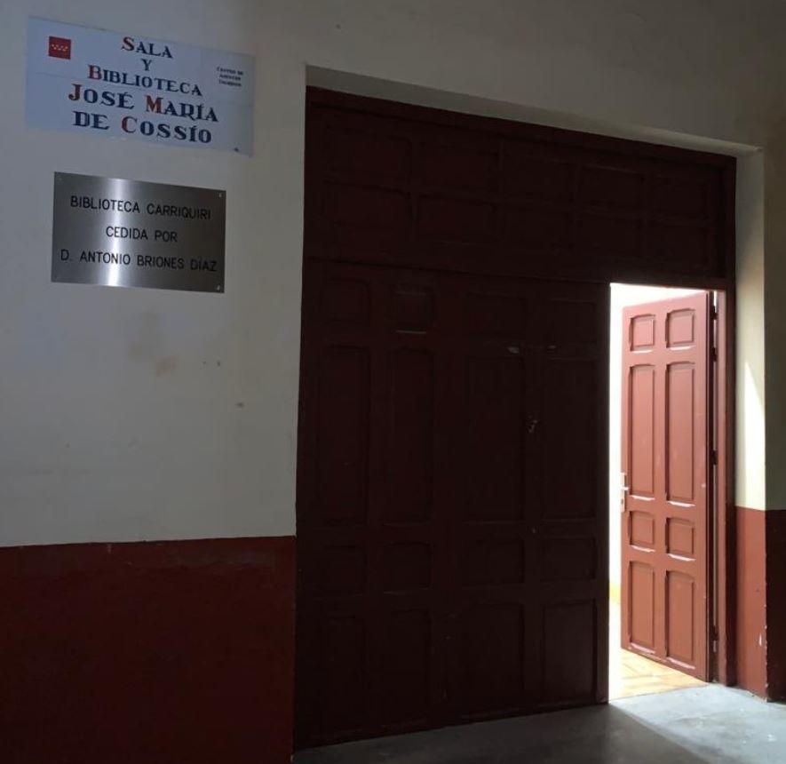 Las Ventas finaliza las obras de la Biblioteca Carriquiri