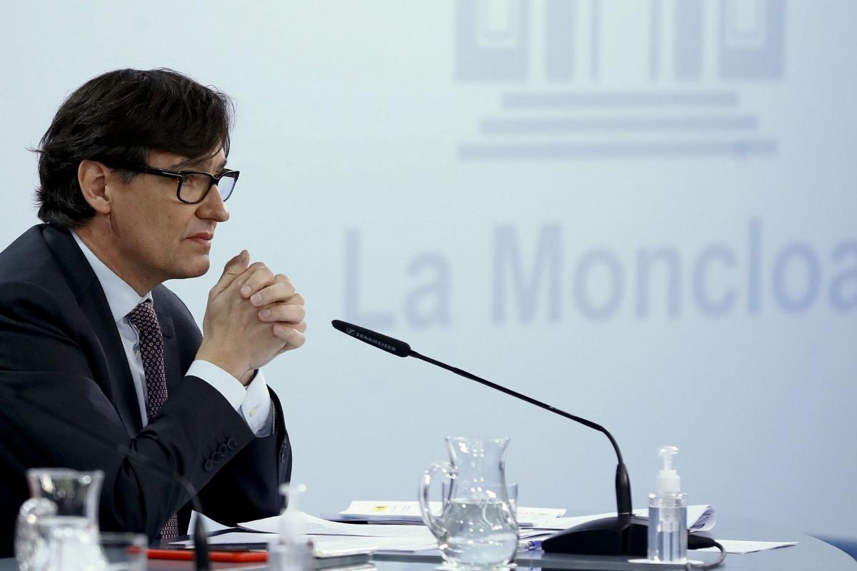 Salvador Illa vetó los confinamientos que le pidieron cinco comunidades ante las elecciones catalanas