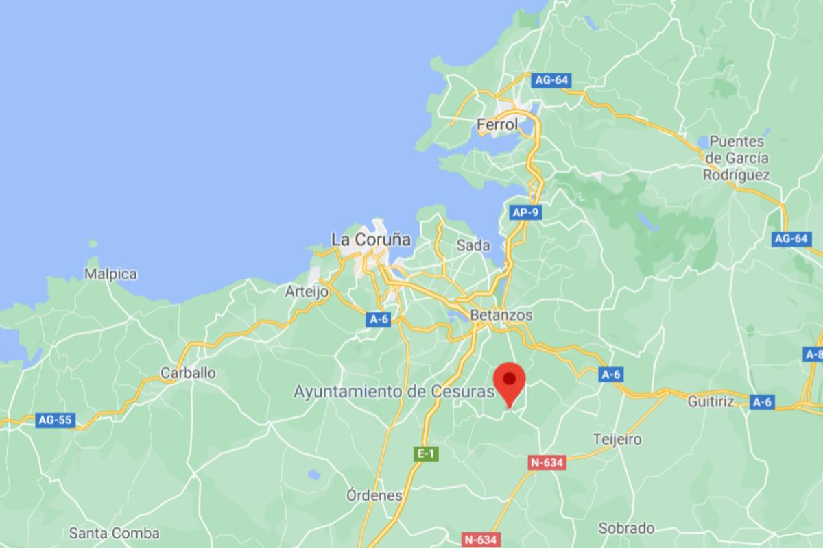 Matan a una mujer de 33 años en su casa de Oza-Cesuras (La Coruña)