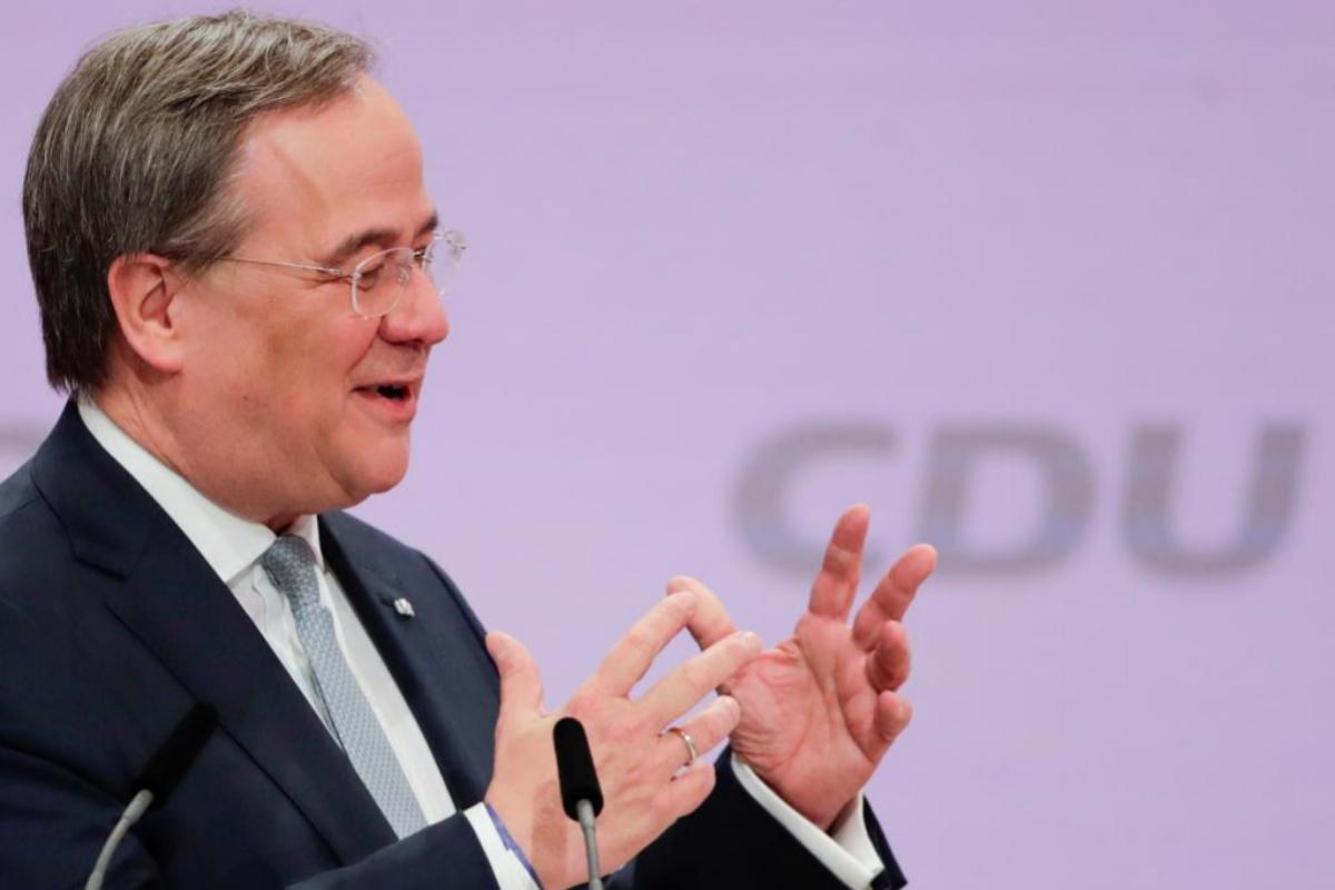 Armin Laschet, aliado de Merkel, elegido presidente de partido alemán CDU