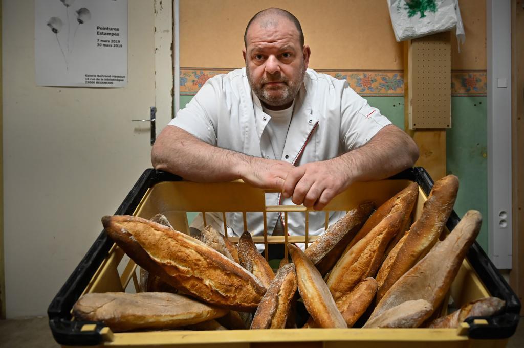 El panadero Stéphane Ravacley