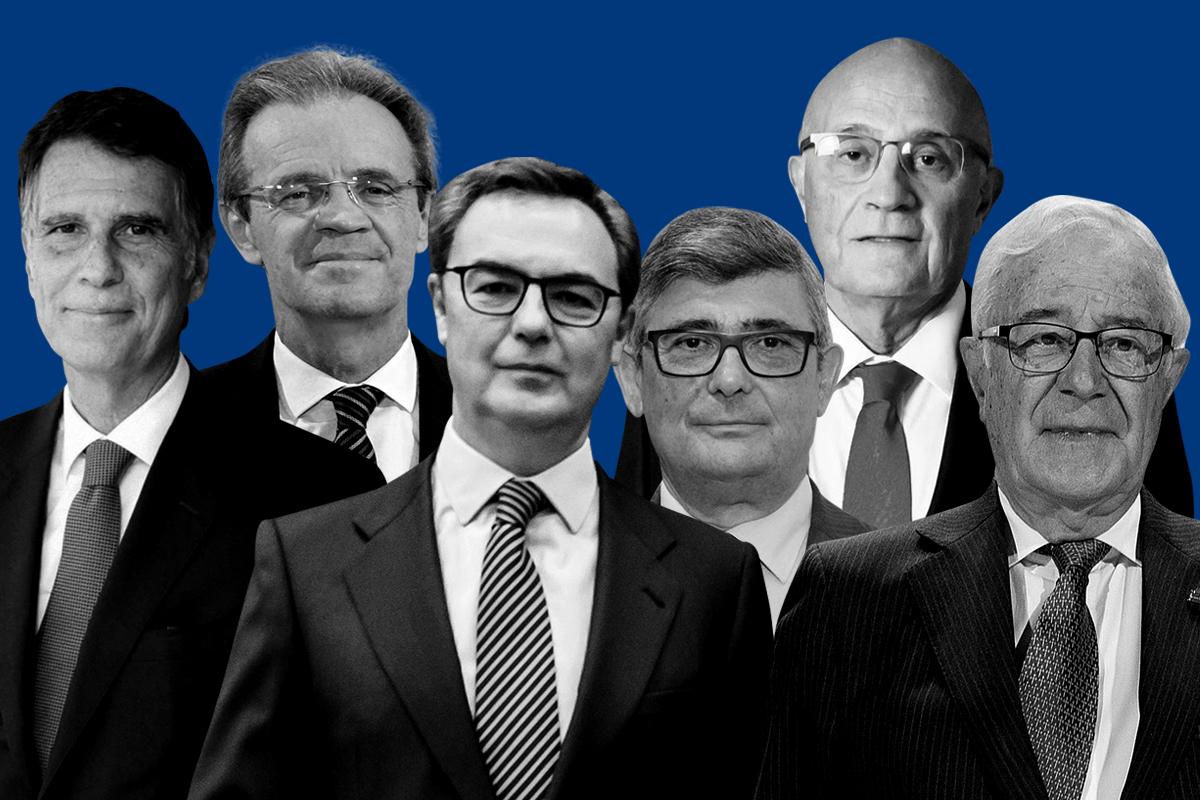 Los directivos de banca españoles que dejarán su cargo en 2021.