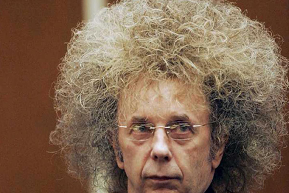 Phil Spector, durante su juicio, en 2009.