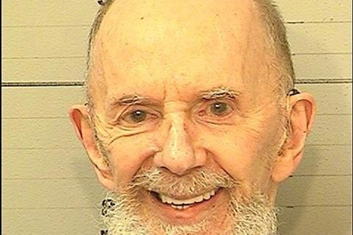 Phil Spector (1939-2021), en su última imagen en prisión, en noviembre.