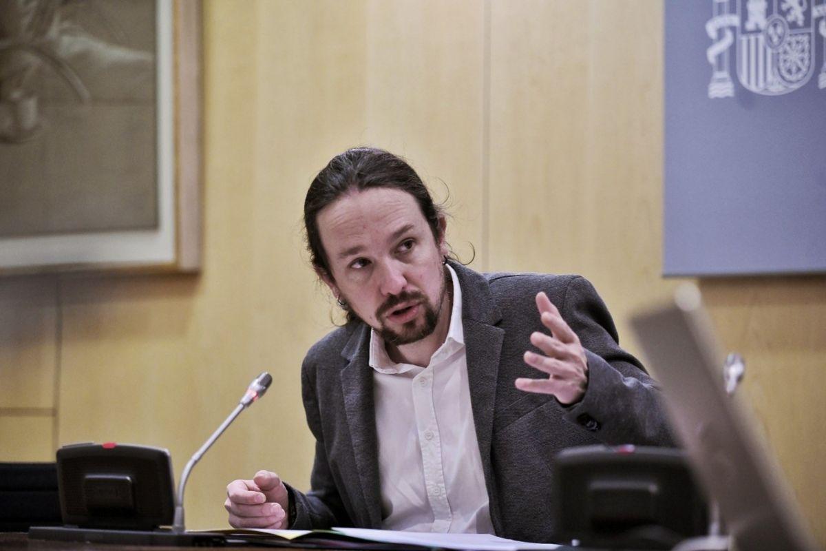 El vicepresidente segundoPAblo Iglesias preside hace unos días el Consejo Territorial de Servicios Sociales.