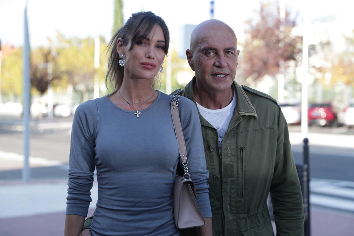 Marta López y Kiko Matamoros, el pasado octubre en Boadilla del Monte.