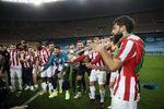 """La final del 'Búfalo' Asier Villalibre: gol, solo de trompeta y manotazo de Leo Messi: """"Se ha 'enfadau'"""""""