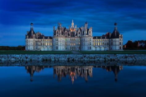 El castillo de Chambord, en Francia.
