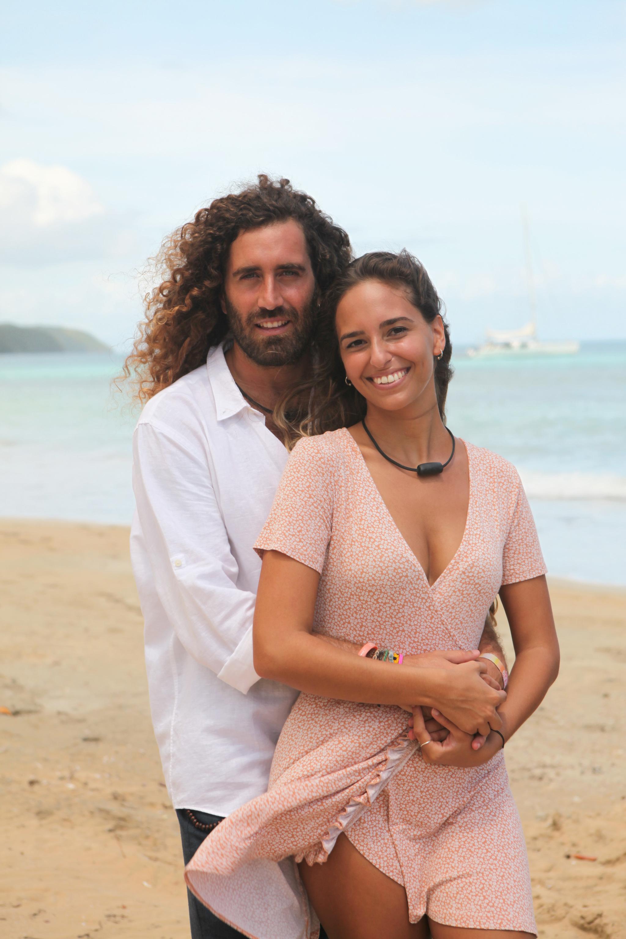Raúl y Claudia.