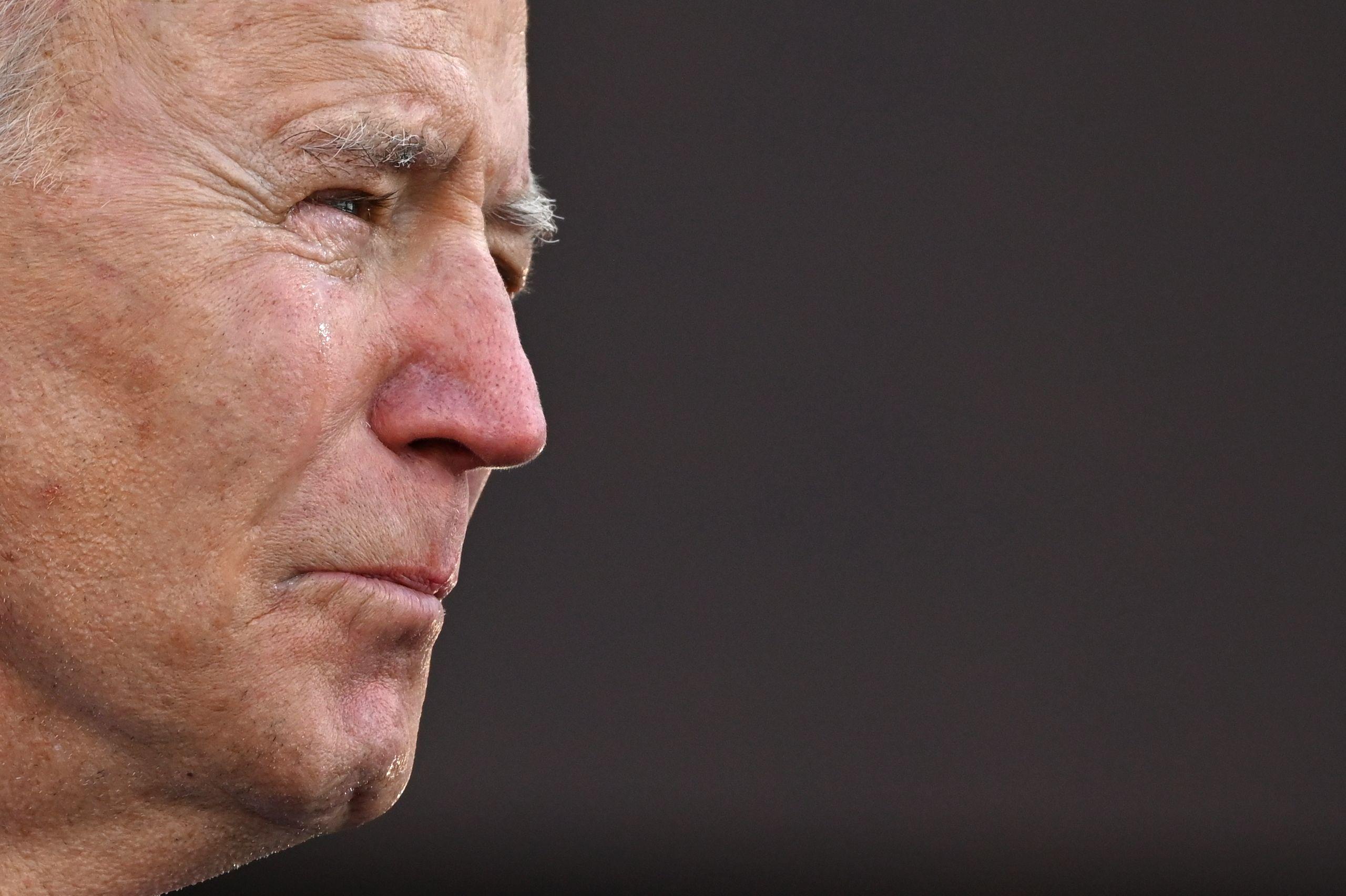 El líder demócrata, Joe Biden.