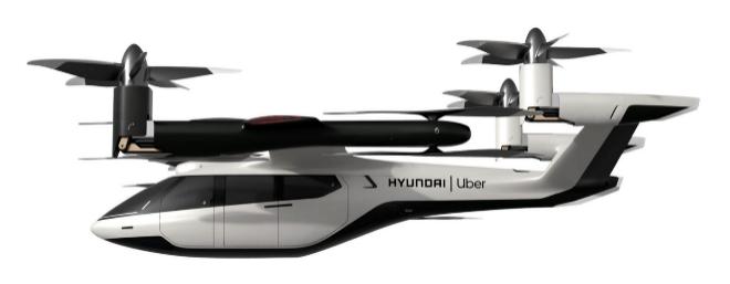 Antes de vender su negocio de aerotaxis, Uber diseñó con Hyundai este modelo