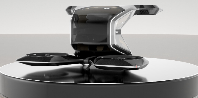 Cadillac desveló este dron en el pasado Salón CES de las Vegas