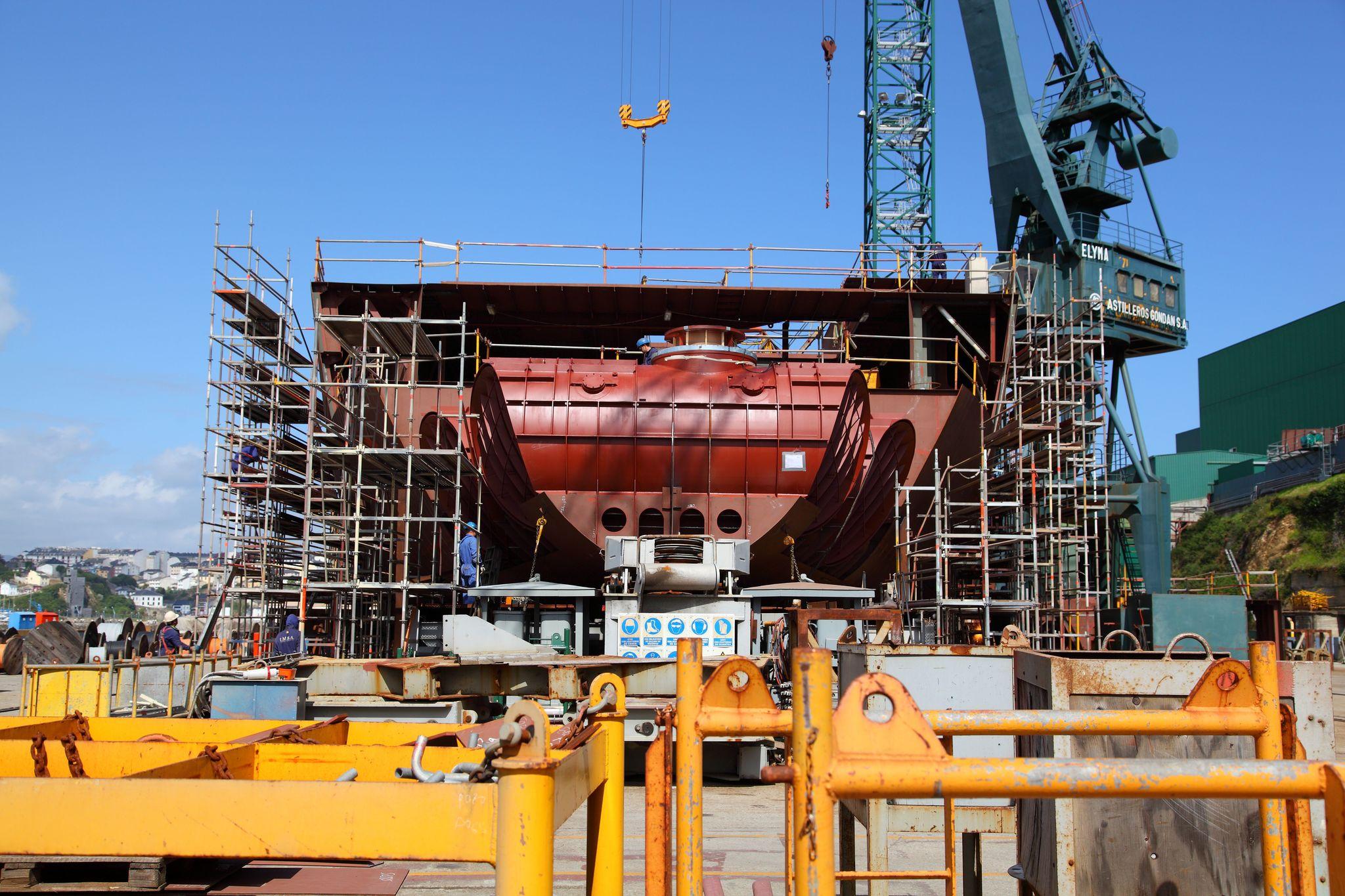 Navantia, Pymar y Siemens presentan a Industria un programa para digitalizar los astilleros