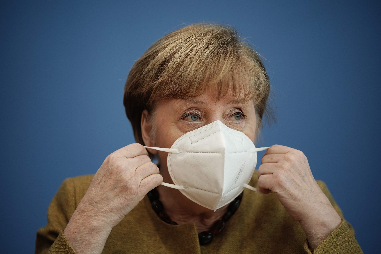 La canciller alemana, Angela Merkel, en una imagen de archivo.