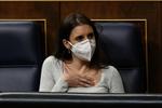 Nueva pelea en público en el Gobierno: Irene Montero critica la reforma del aborto que prepara Salvador Illa