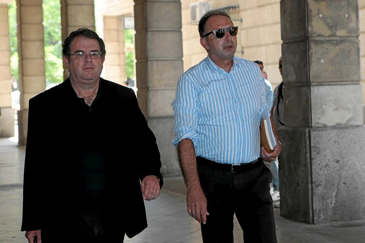 El ex alto cargo de la Junta Daniel Alberto Rivera, con gafas de sol.