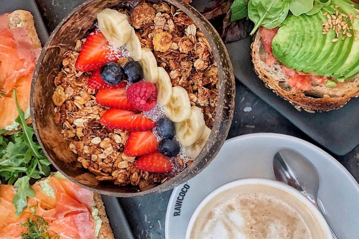 Los desayunos de Raw Coco son así de apetecibles.