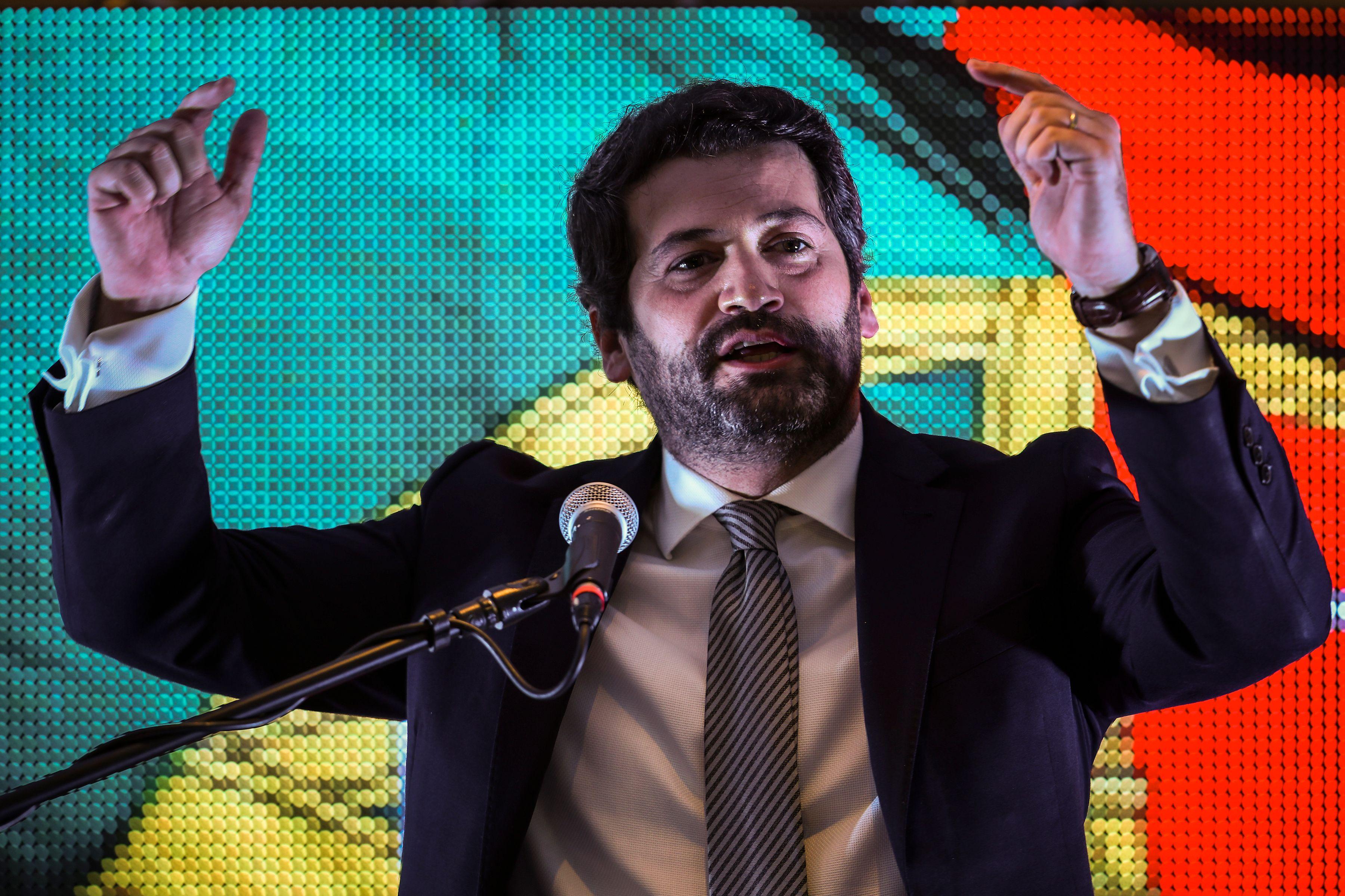 El líder del partido Chega, André Ventura.