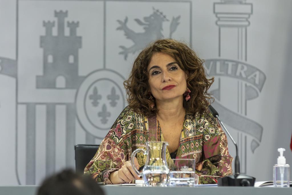 María Jesús Montero, portavoz del Gobierno y ministra de Hacienda.