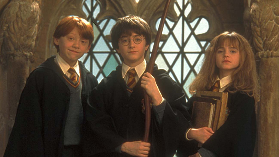 Imagen de la película Harry Potter.