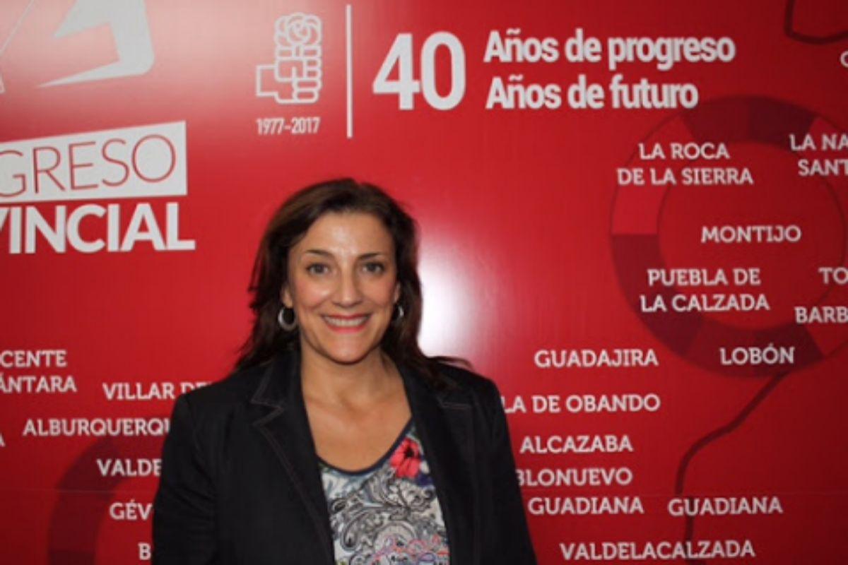 Montserrat Rincón, que ha dimitido del cargo de directora territorial de Badajoz del SEPAD.