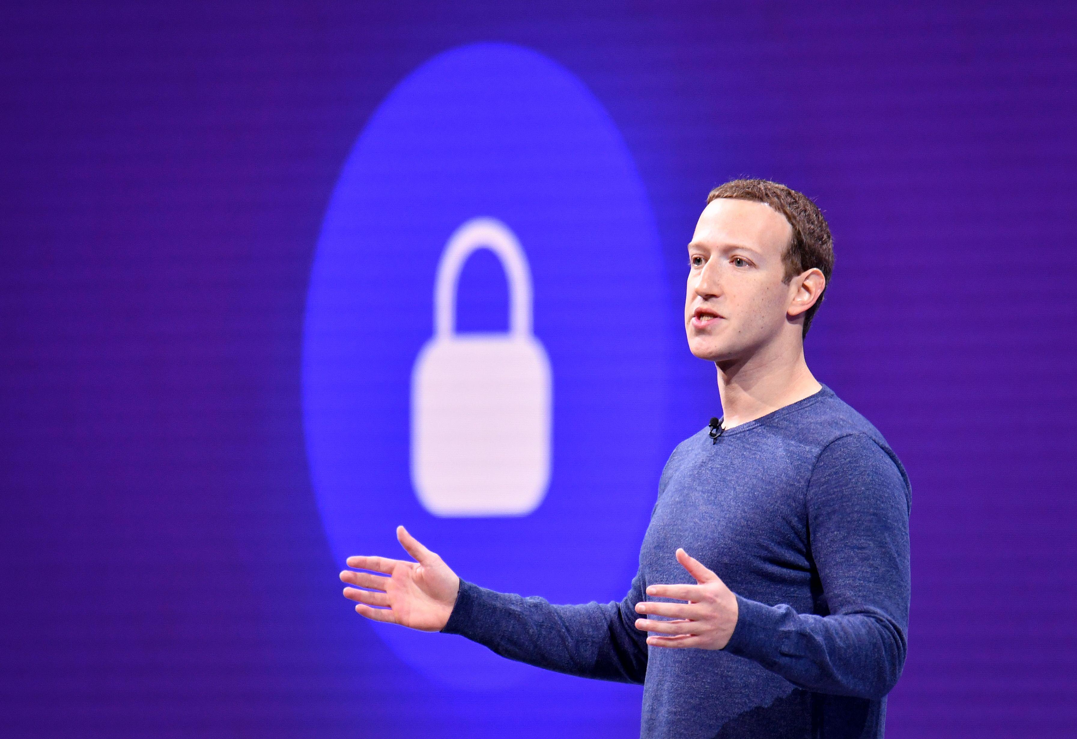 El CEO  de Facebook, Mark Zuckerberg, en una imagen de archivo.