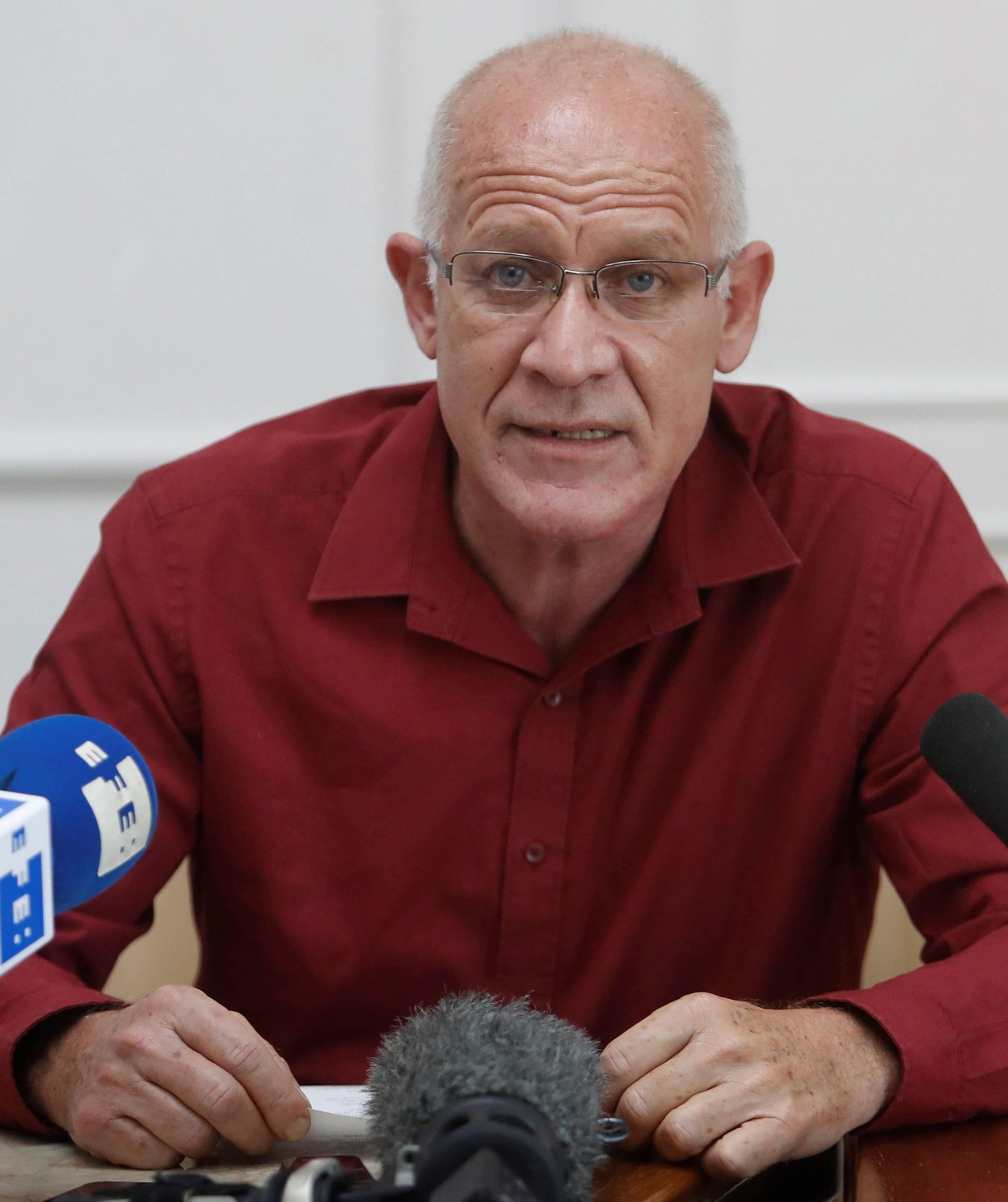 El viceministro de Cultura de Cuba Fernando Rojas.