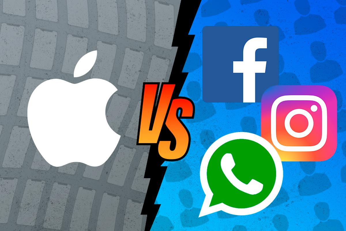 La guerra entre Apple y Facebook por nuestros datos se recrudece