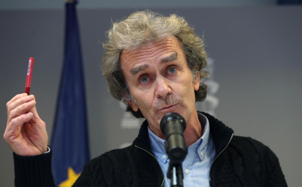 Fernando Simón, en su comparecencia diaria.