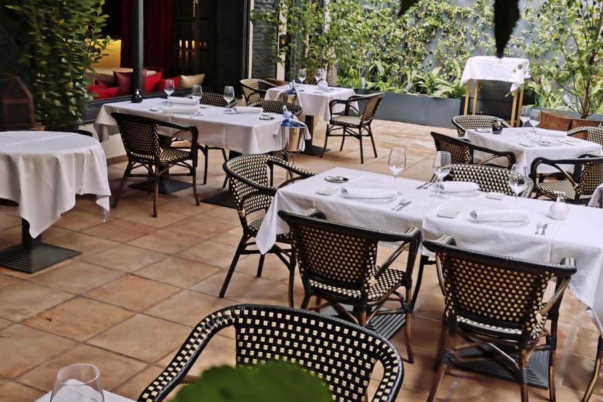 La terraza de Brasserie Lafayette.