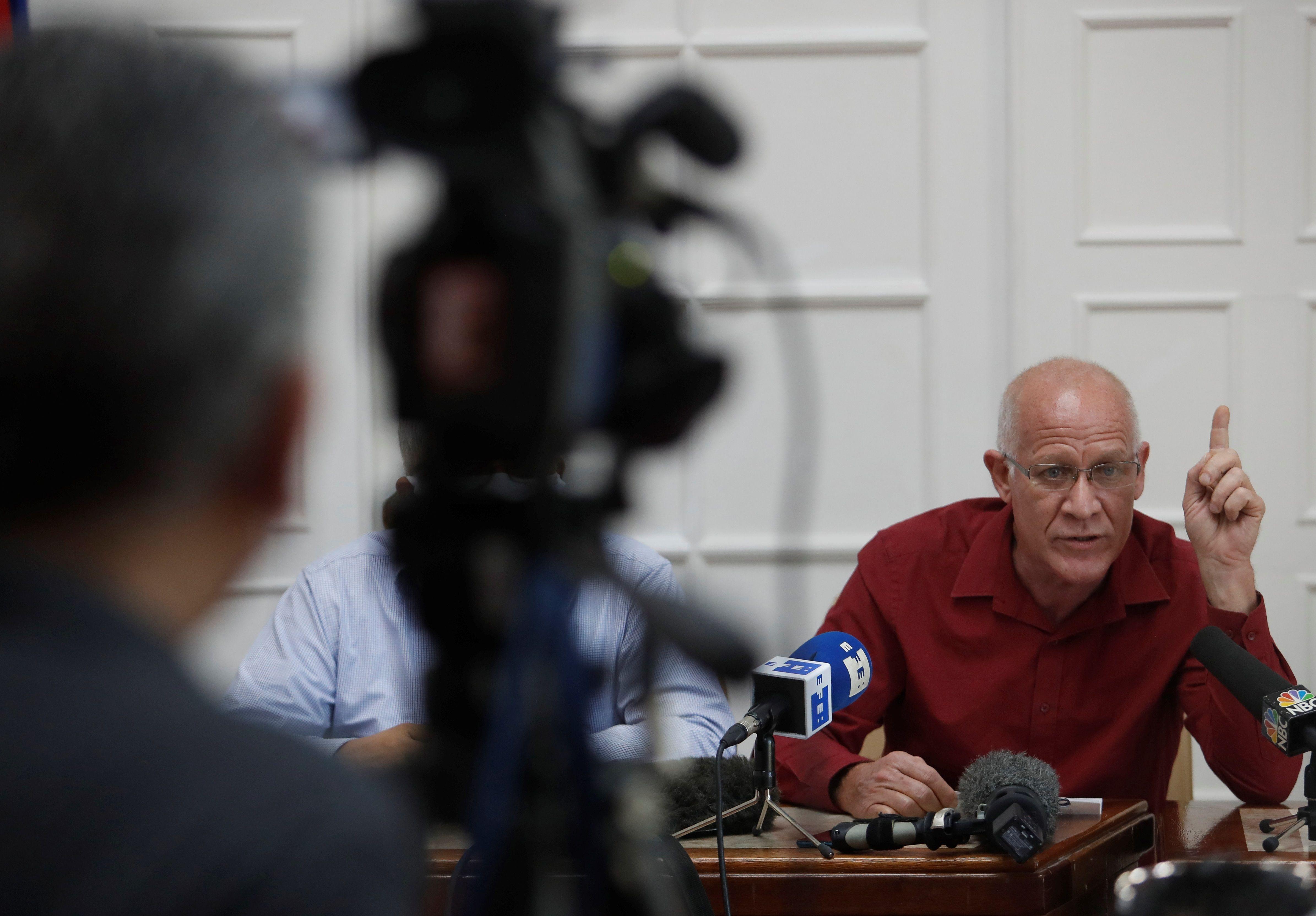 فرناندو روخاس معاون وزیر فرهنگ کوبا.