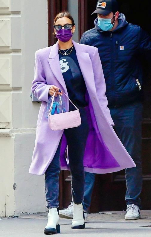 Irina deslumbra incluso con los estilismos más sencillos. Foto: gtresonline.
