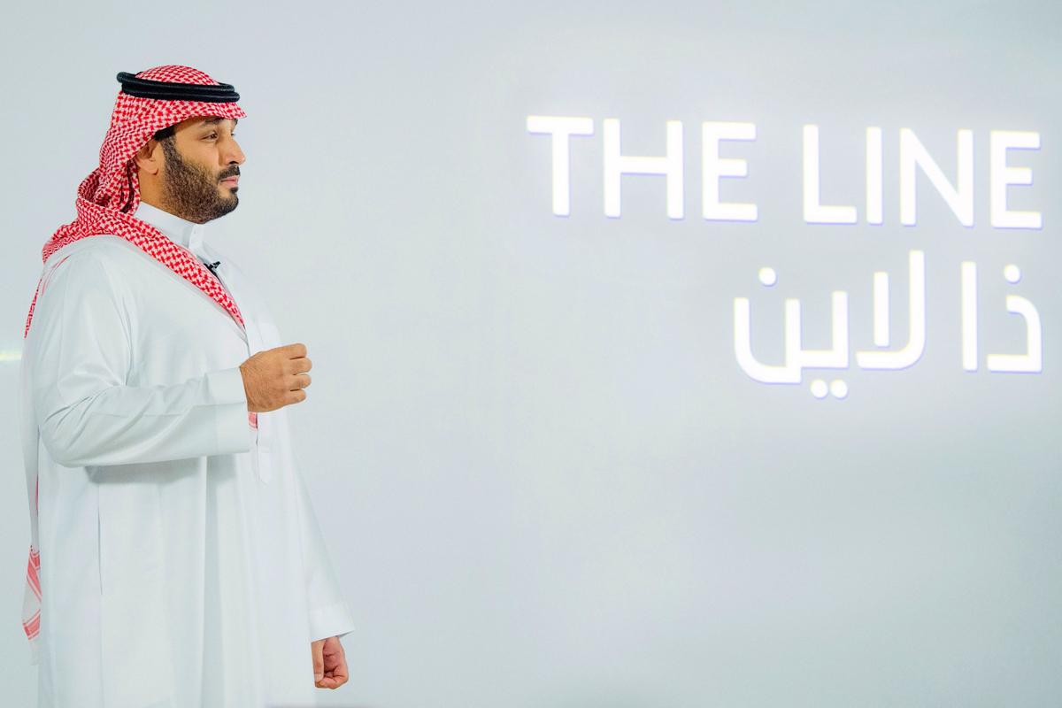 محمد بن سلمان The L را ارائه می دهد