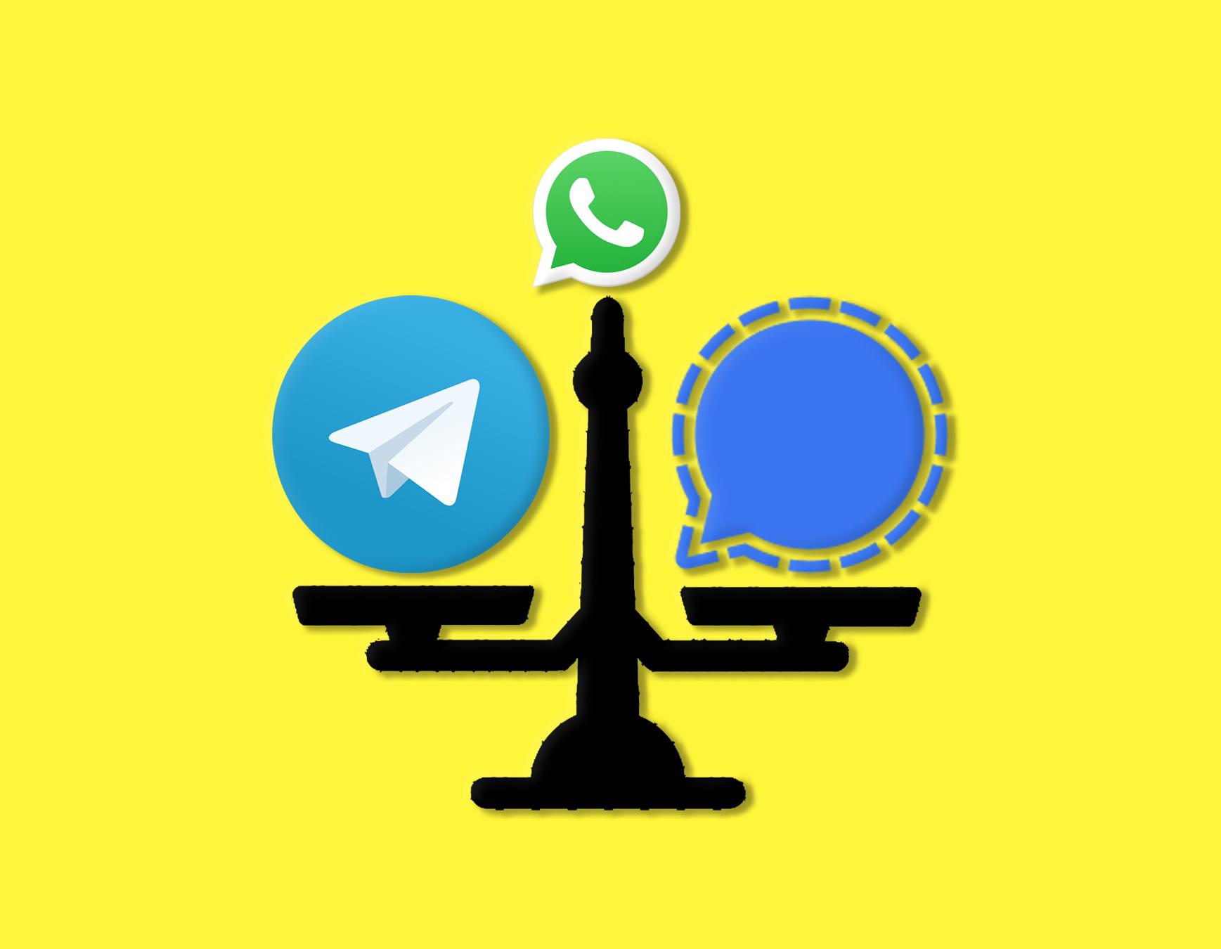 Quieres dejar WhatsApp por Telegram o Signal: ¿qué alternativa es mejor?
