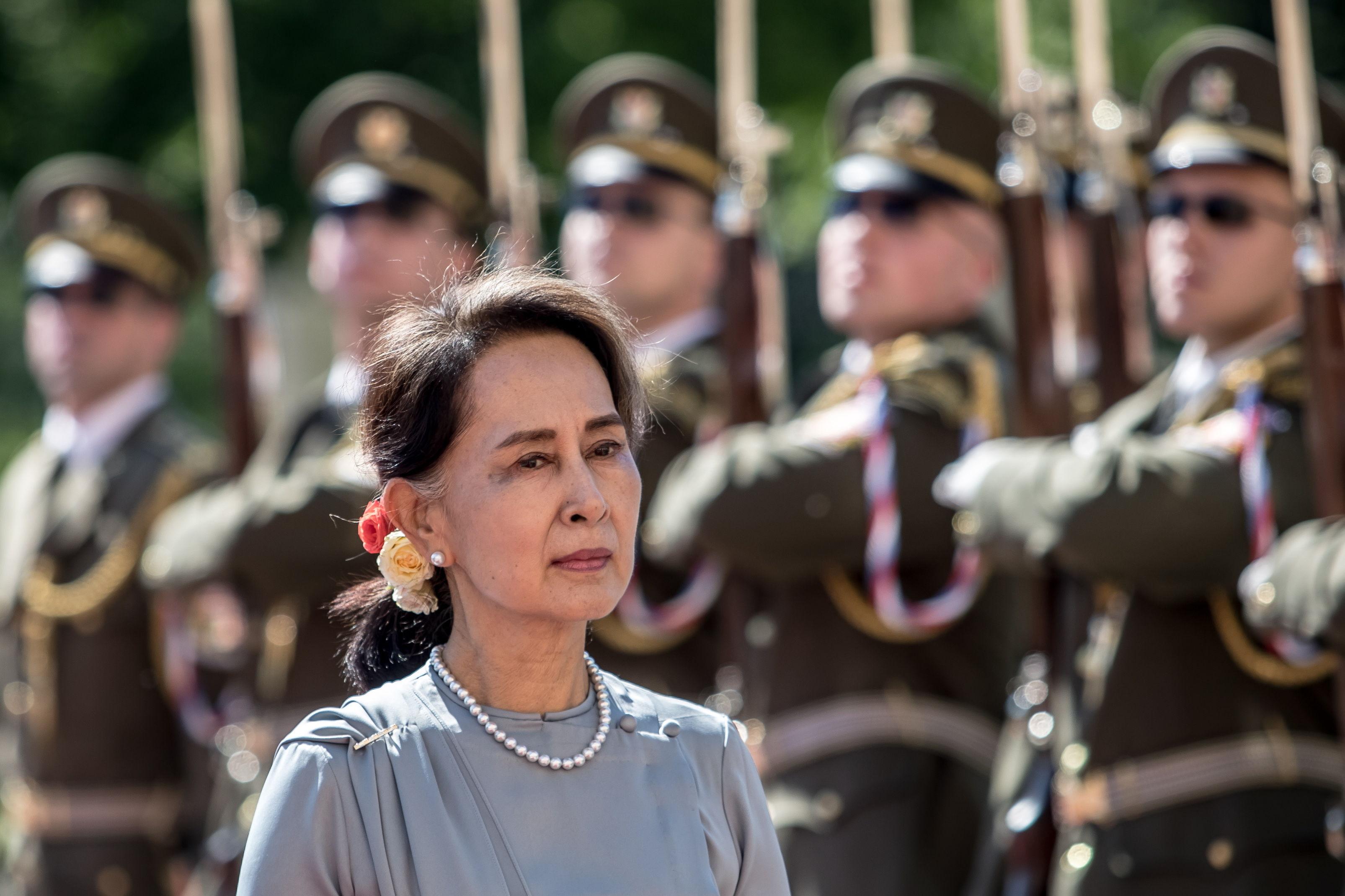 Aung San Suu Kyi, en una imagen reciente