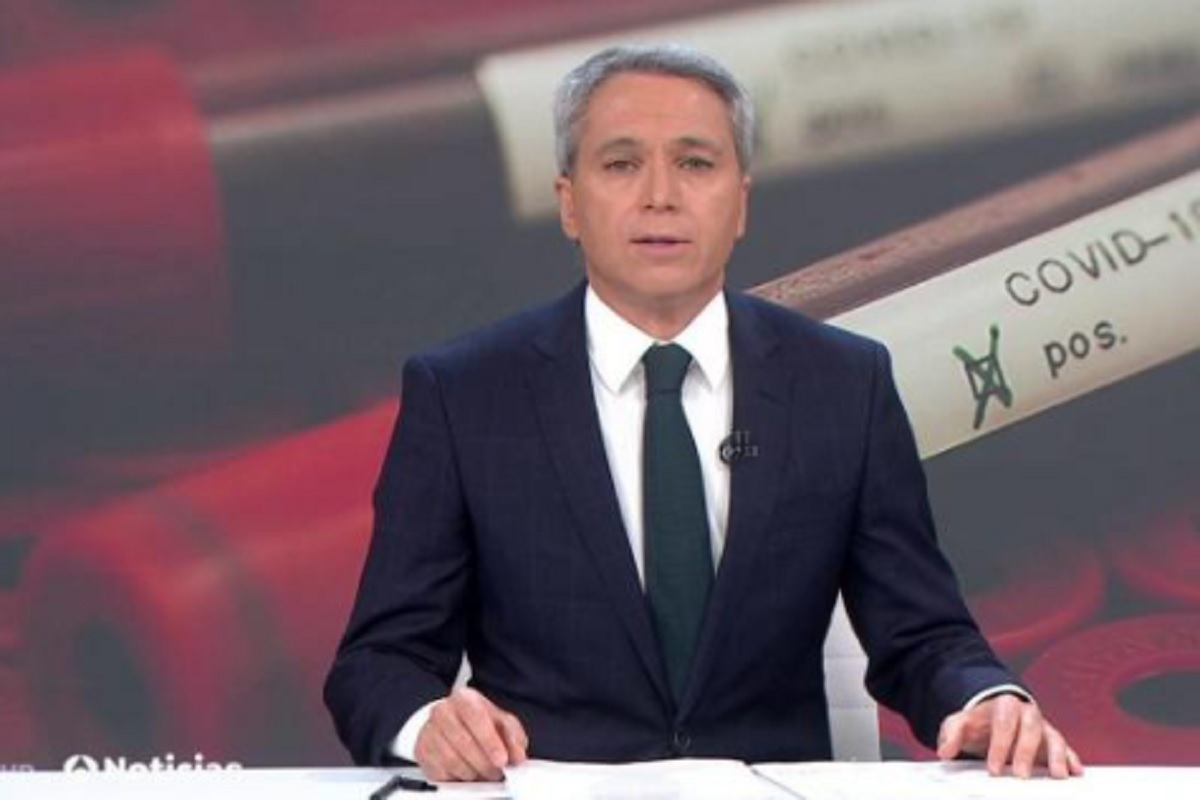 Vicente Vallés, director y presentador de Antena 3 Noticias 2.