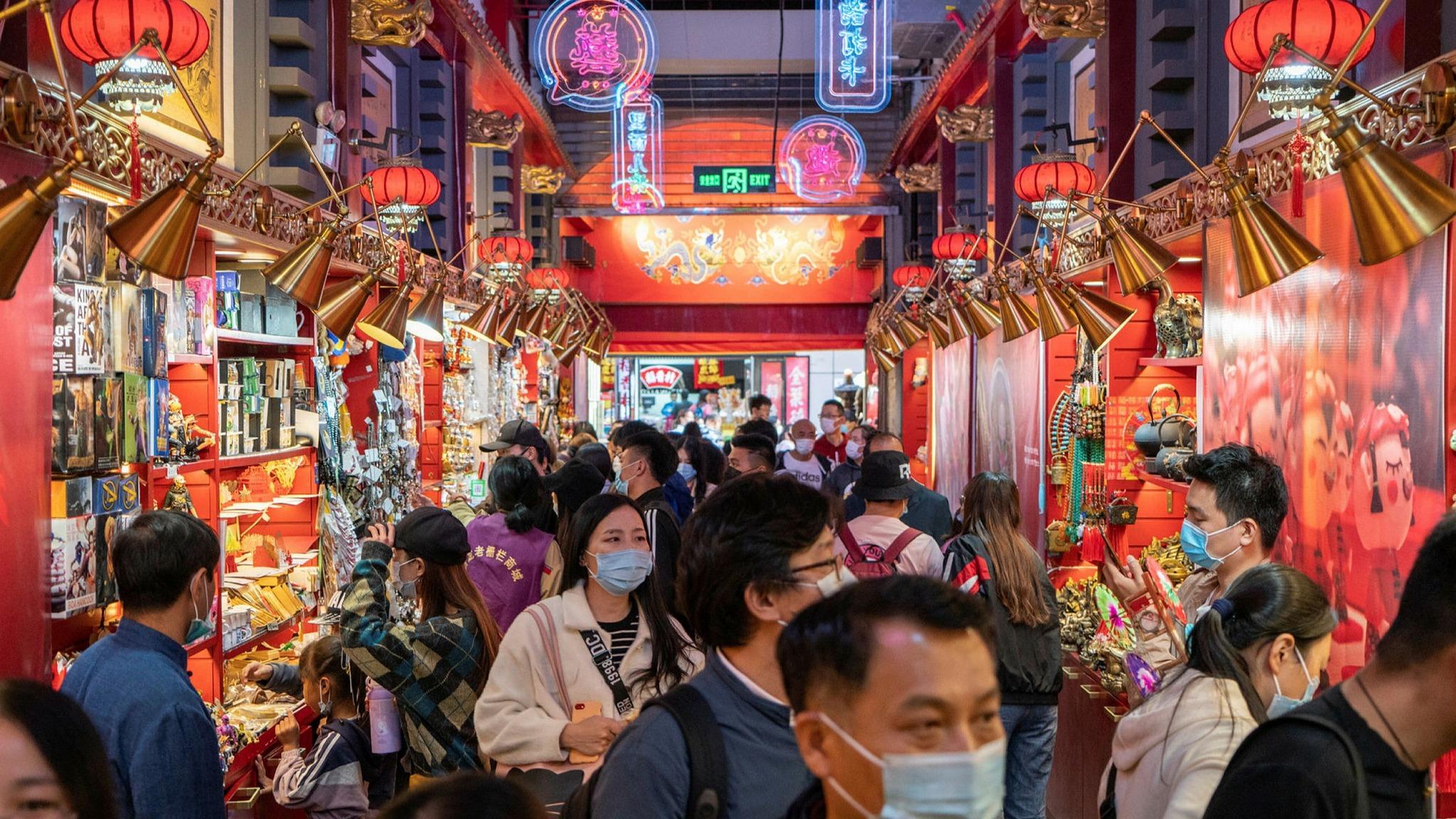 El crecimiento de China a largo plazo podría ralentizarse.
