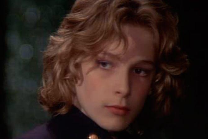 Björn Andrésen, el joven actor de 'Muerte en Venecia'.