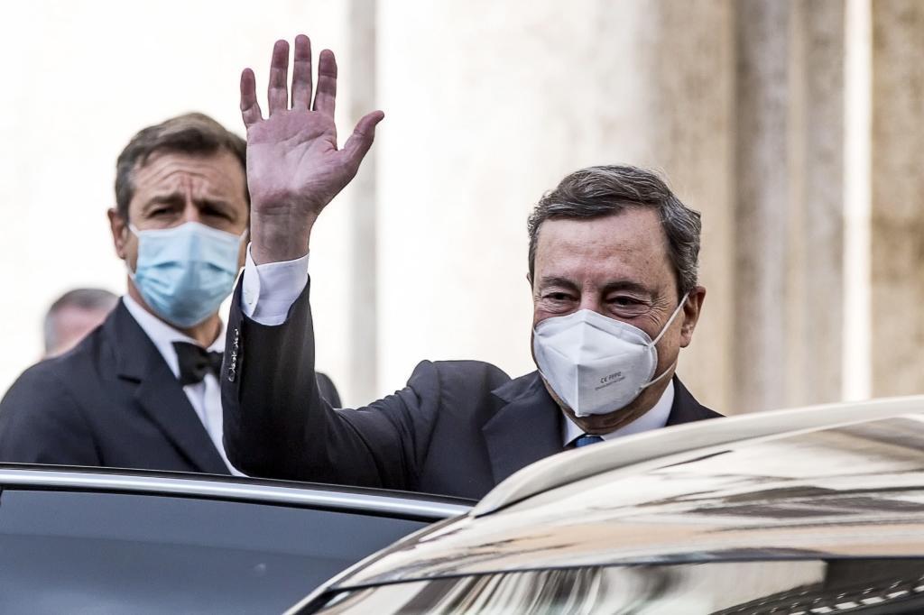 Lo que va de Draghi a Sánchez e Iglesias