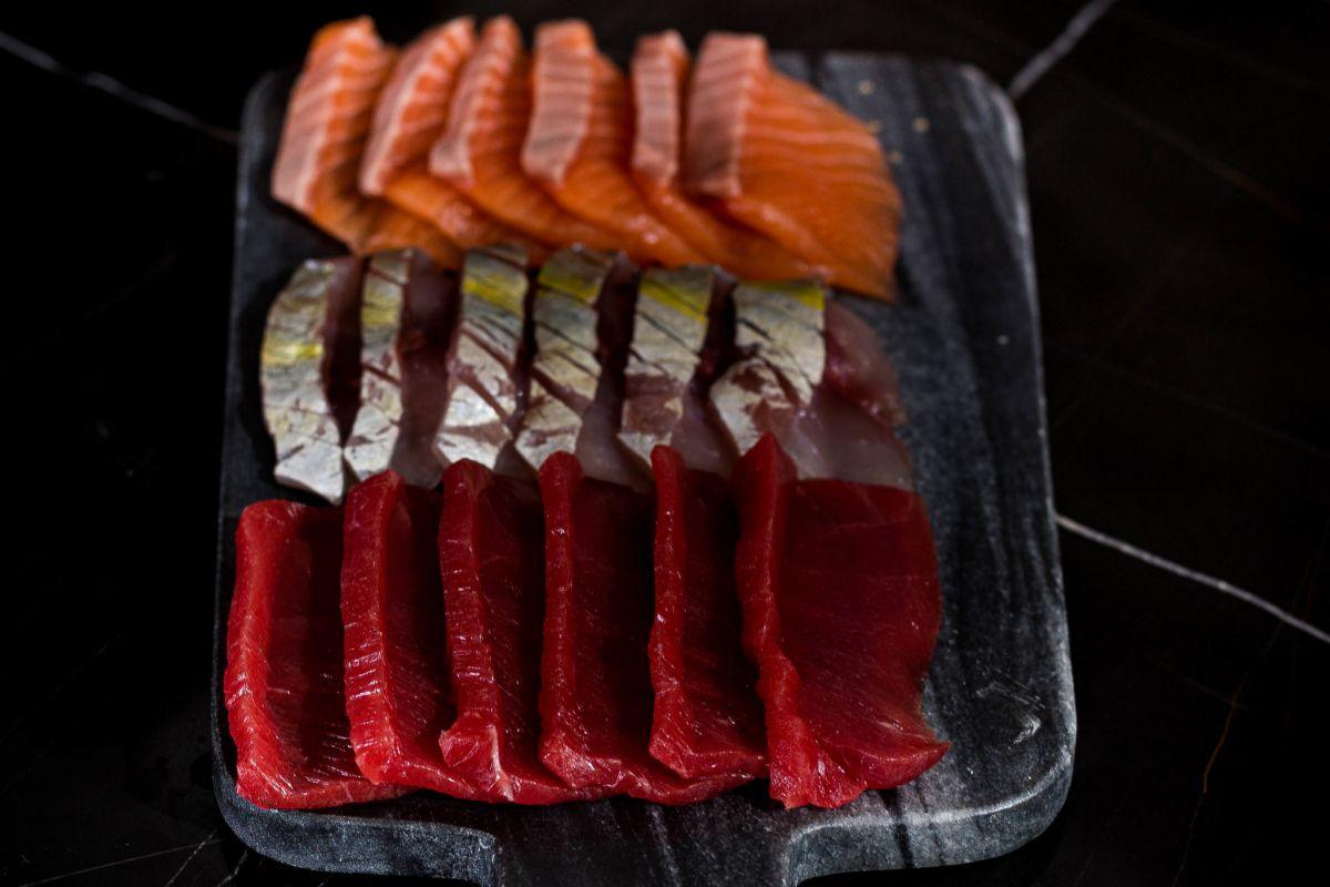 La variedad de pescados es seña de identidad de Kappo.
