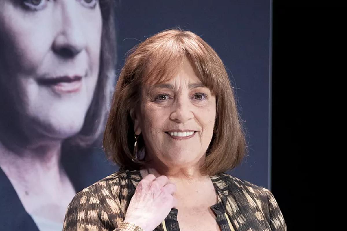 Carmen Maura  en el estreno de 'La golondrina'.