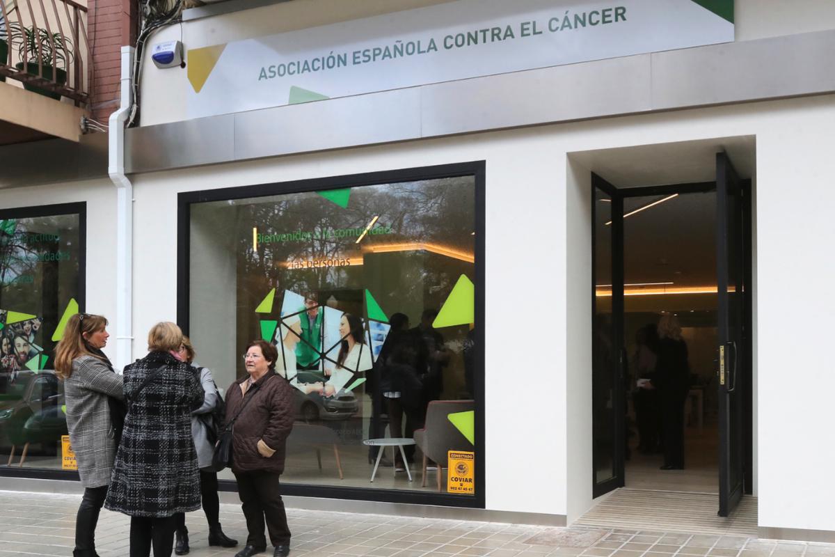 Sede de la Asociación Española contra el Cáncer en Castellón.