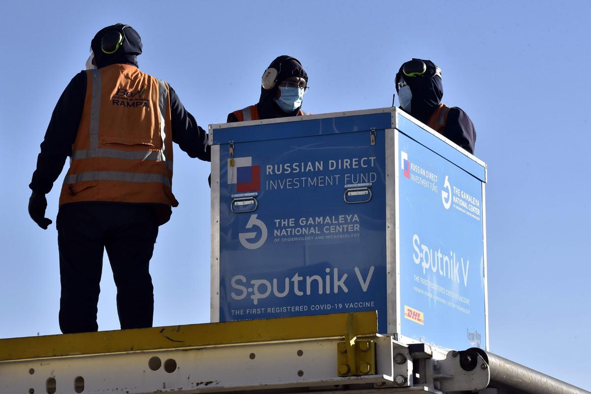 La vacuna rusa llega a La Paz (Bolivia).