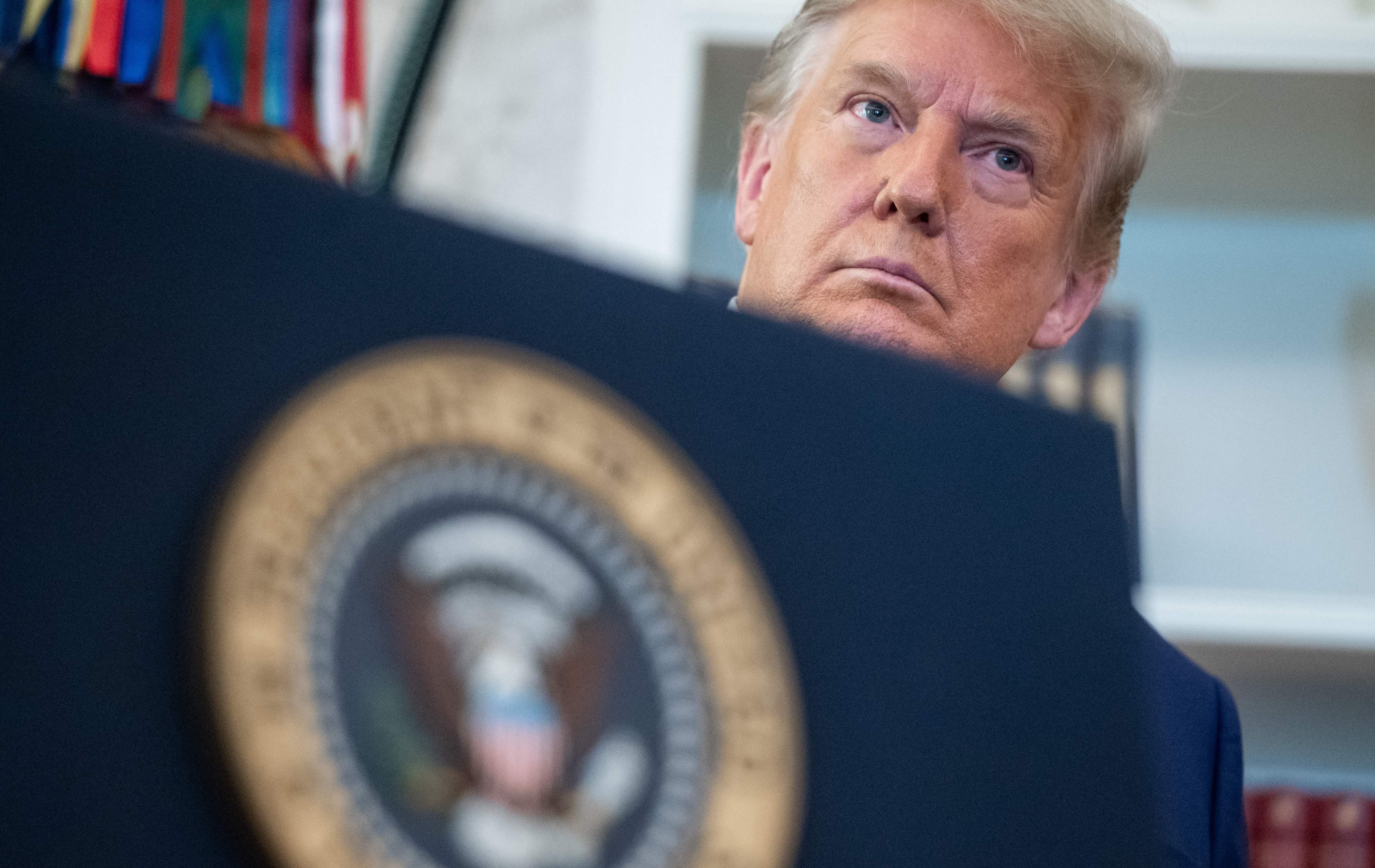 ترامپ شهادت نمی دهد
