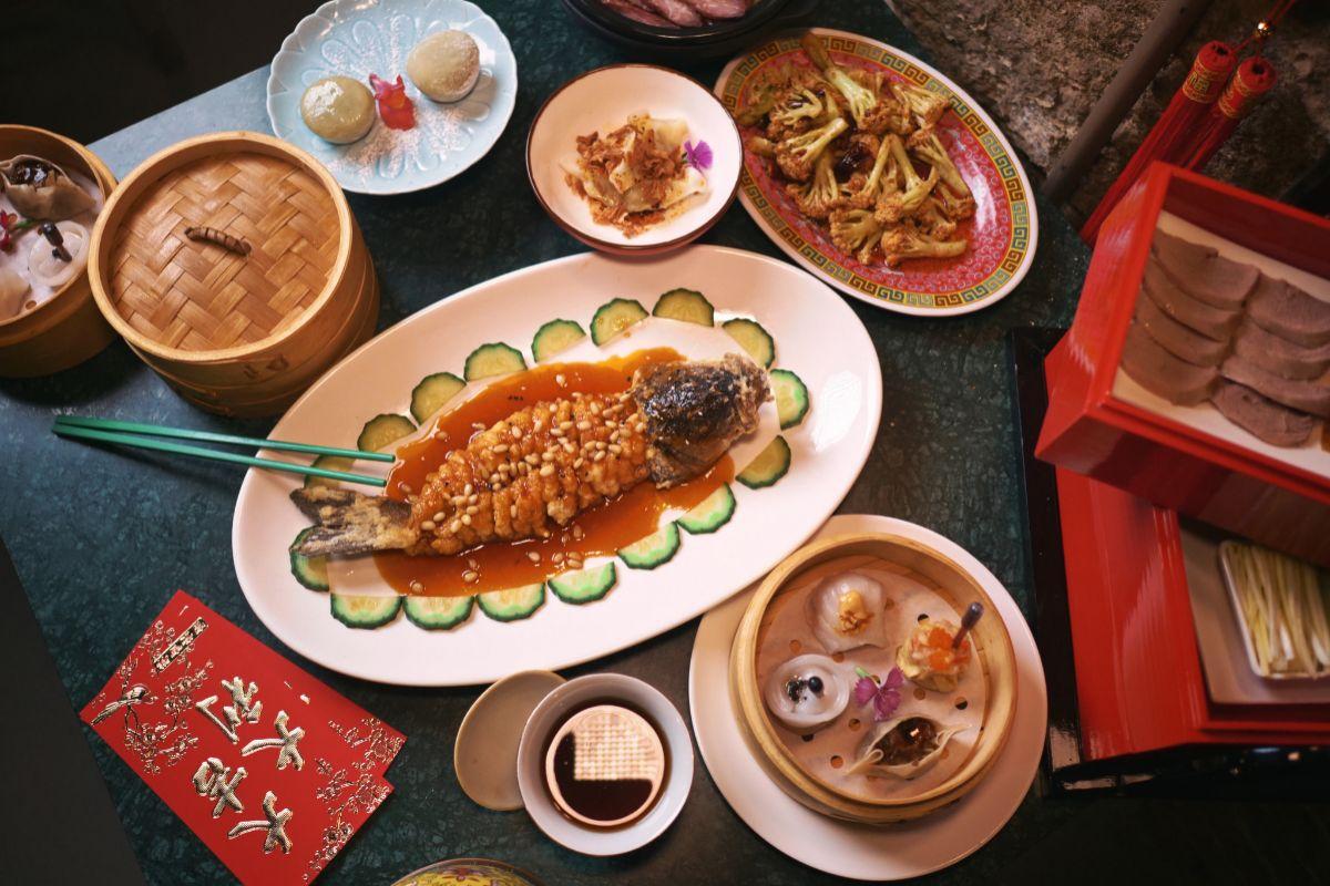 Menú degustación de Hong Kong 70.