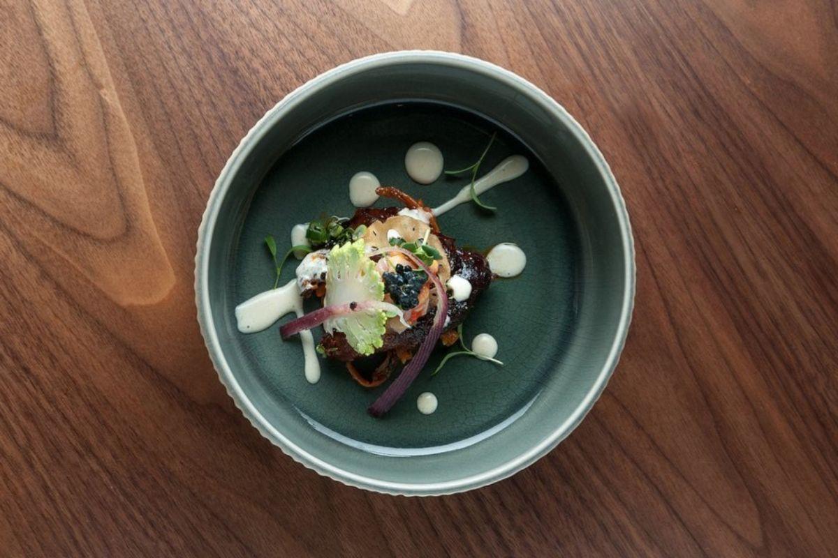 Oreja de cochinillo, del menú de Soy Kitchen.