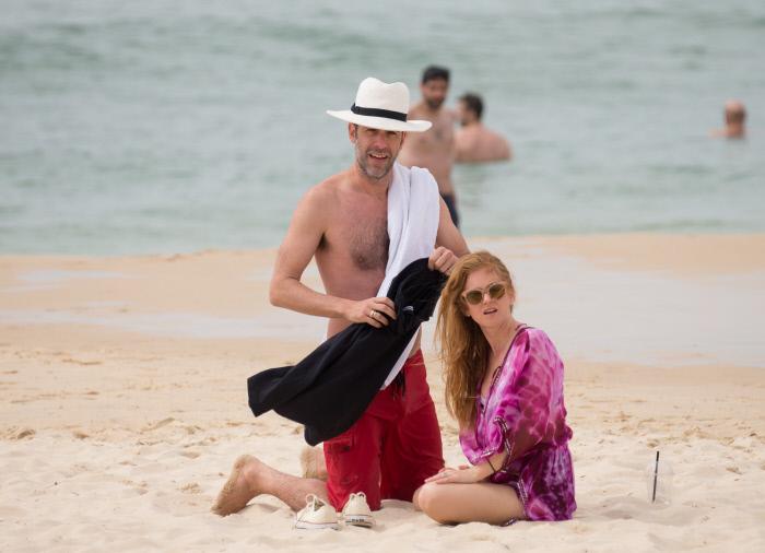 El matrimonio, de vacaciones en Sydney.