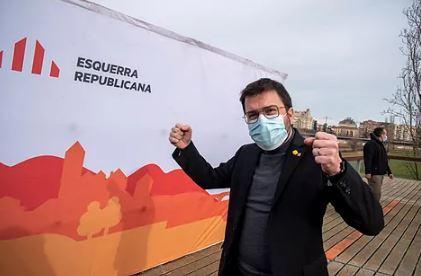 Pere Aragonés, de ERC.EFE