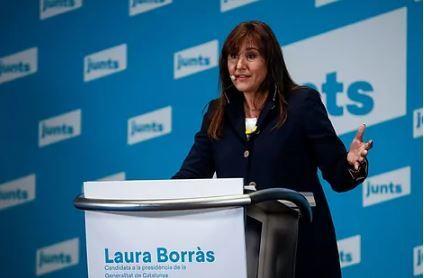Laura Borràs, de JxCat.EFE